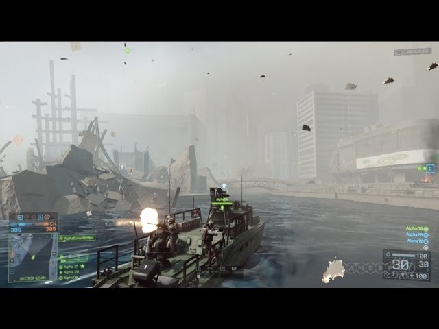 Battlefield 4 - Random Map Exploration of Shanghai Gameplay