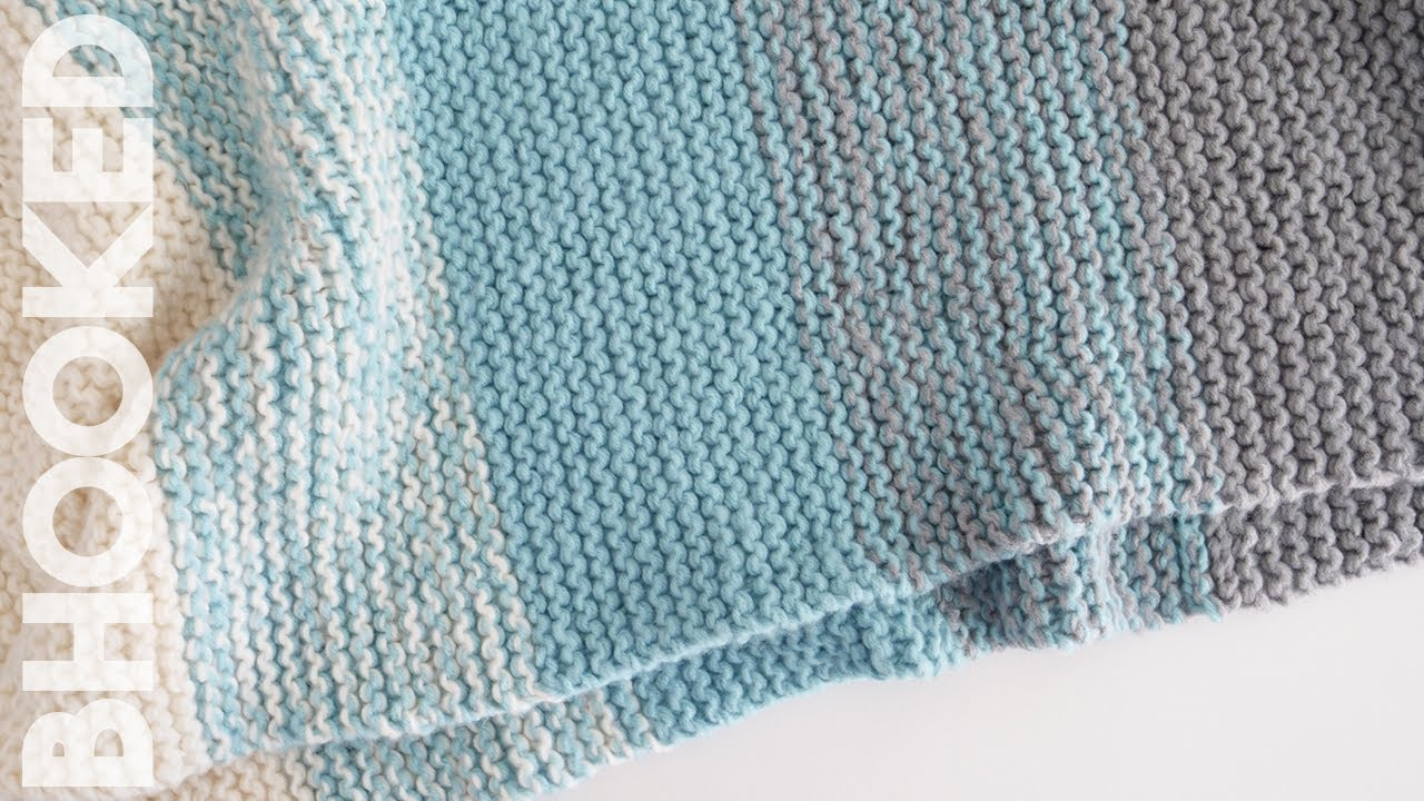 How To Knit A Baby Blanket For Complete Beginners Easy Knit Baby