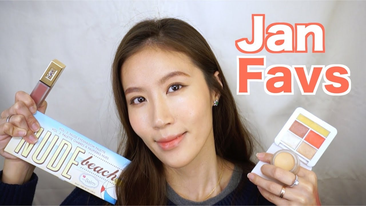 Celeste Wu 大沛   2018年1月彩妝愛用品    2018 January - YouTube