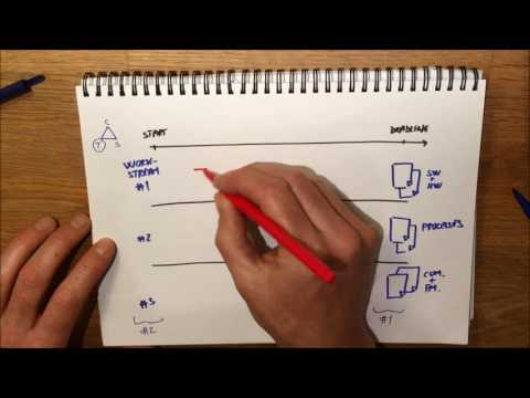 Project management - milestones and project plan