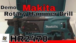Makita Rotary Hammer Drill HR2470 & Demo