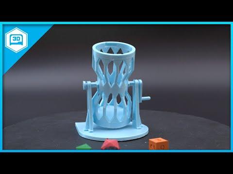 Dice Tumbler #3DPrinting #Timelapse @adafruit #adafruit
