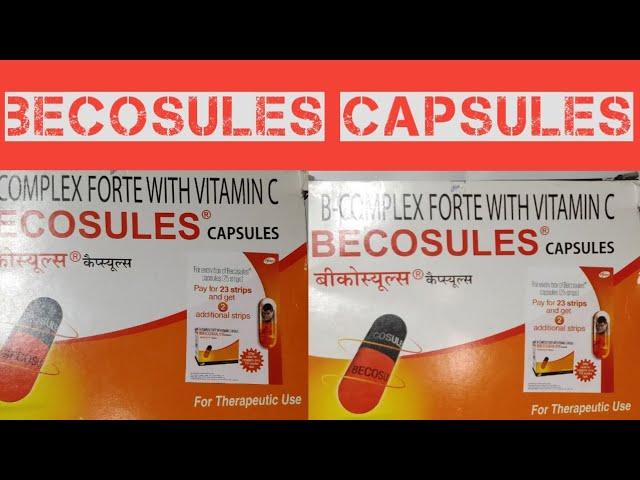 Becosules capsules | becosules capsules uses in hindi | Becosule Capsule Uses | becosules review