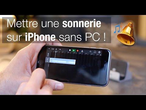 🔥 METTRE UNE MUSIQUE EN SONNERIE SUR IPHONE 🔥