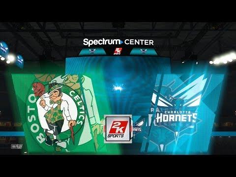 NBA 2K18 Boston Celtics vs Charlotte Hornets Gameplay PS4 HD