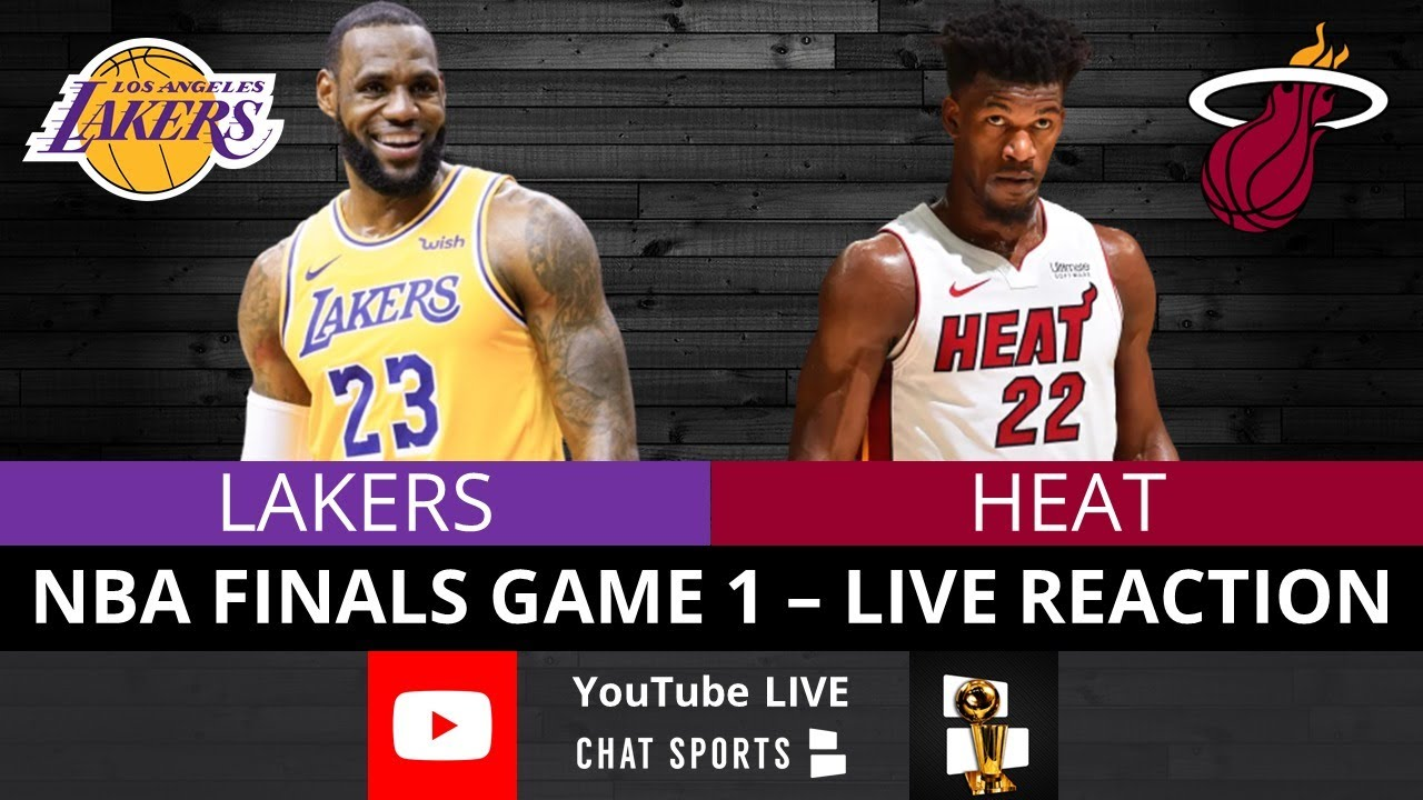 Lakers Vs Heat Nba Finals Game 1 Live Streaming Watch Party Play By Play Reaction Youtube