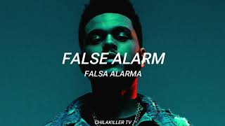 False Alarm - The Weeknd (Lyrics - Sub. Español)