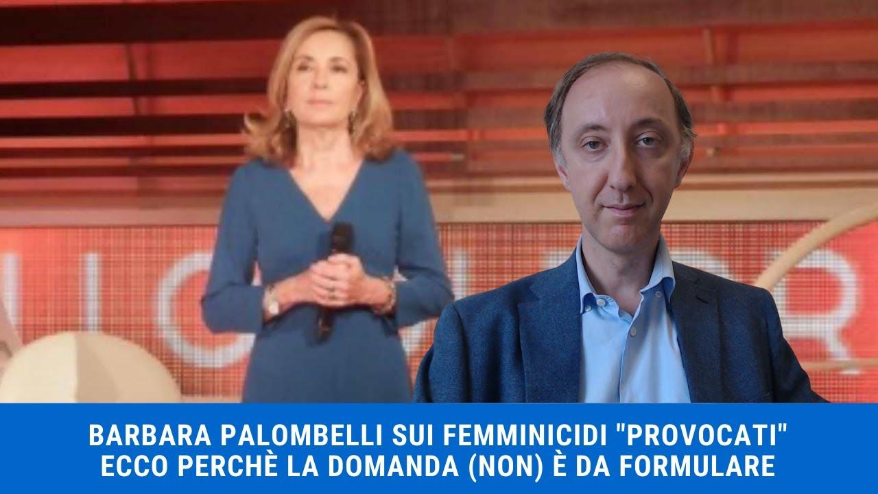 Barbara Palombelli - dichiarazioni sul
