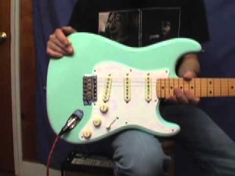 new surf green 50 39 s classic series fender stratocaster electric guitar review youtube. Black Bedroom Furniture Sets. Home Design Ideas