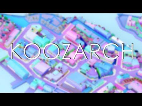 KOOZARCH STYLED ARCHITECTURAL ILLUSTRATION | PHOTOSHOP TUTORIAL