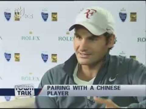 Roger Federer talks about Chinese player, Retirement and Twins daughters.