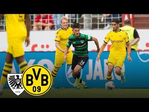Götze scores a brace | SC Preußen Münster - BVB 0-4 | Highlights