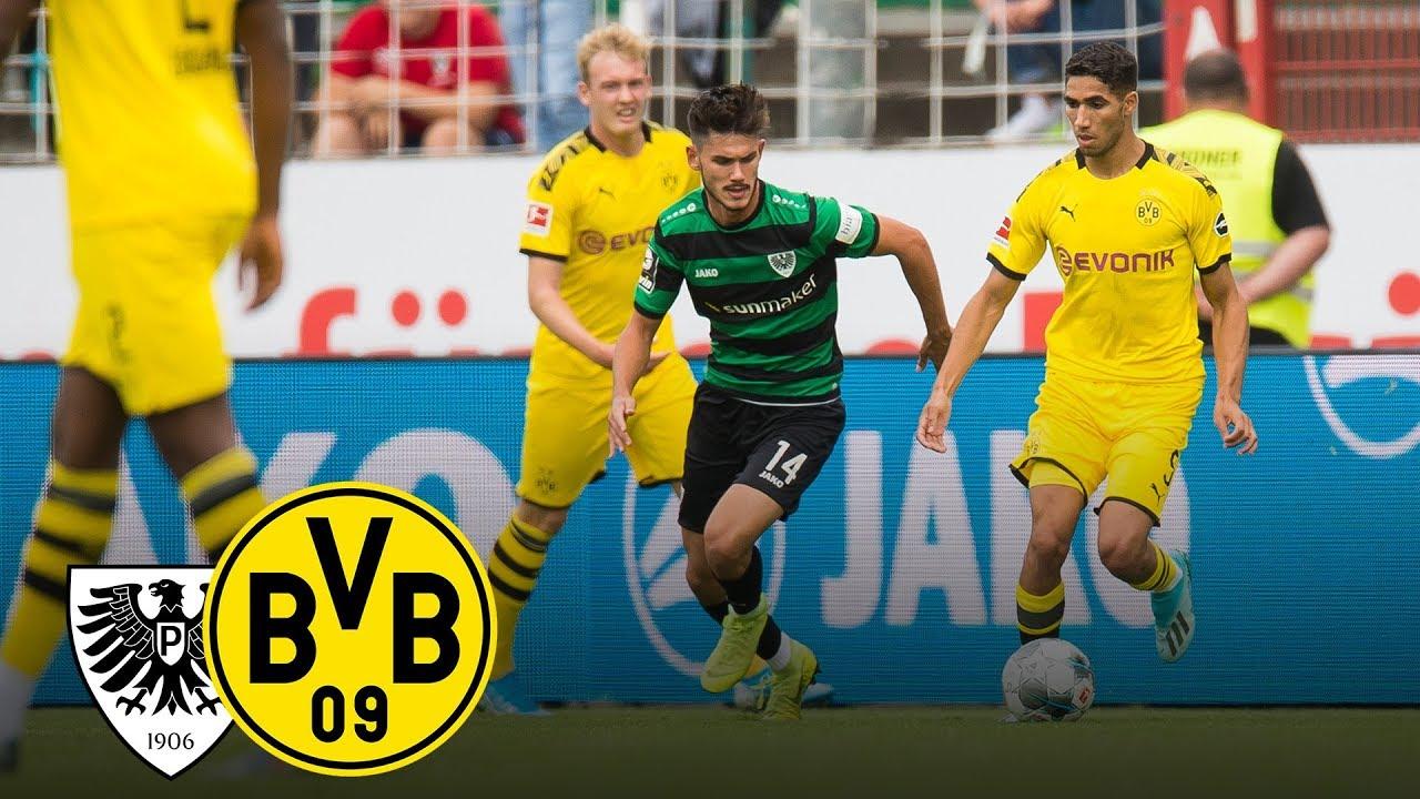 Götze mit dem Doppelpack | SC Preußen Münster - BVB 0:4 | Highlights