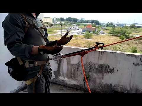 Tactical Rappel Setup