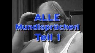 MUNDL - Alle Sprücherl - Teil 1