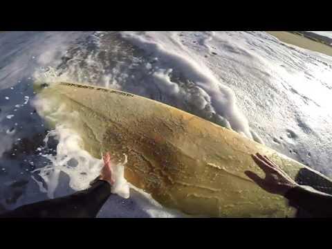 Surfing POV   September 27th   2016 (RAW FOOTAGE)