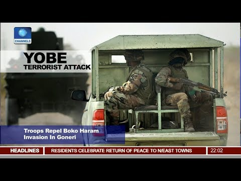 Troops Repel Boko Haram Invasion In Yobe State Pt 1 | News@10 |
