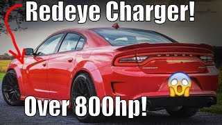 2020 Charger Redeye Widebody CONFIRMED! MORE HP THAN DEMON!