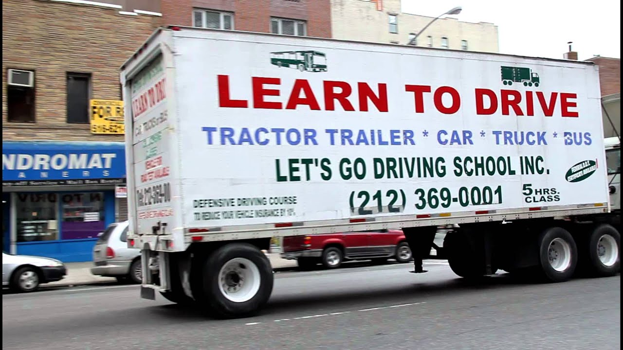 Learn to Drive CDL Lessons NYC