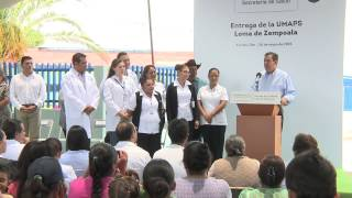 Mensaje del Gobernador Miguel Márquez, UMPAS Loma de Zempoala, Yuriria, Gto