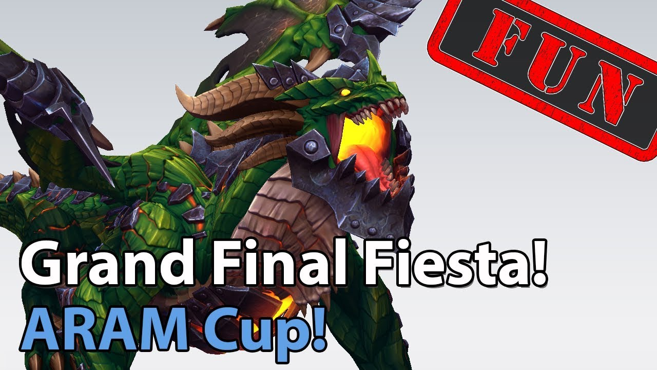 ► ARAM Cup - Grand Final Fiesta - Heroes of the Storm Brawl