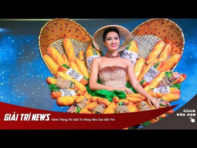 Bánh Mì - Trang phục dân tộc của H'Hen Niê tại Miss Universe 2018