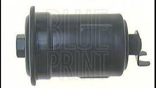 Замена топливного фильтра тонкой очистки на Toyota Corsa