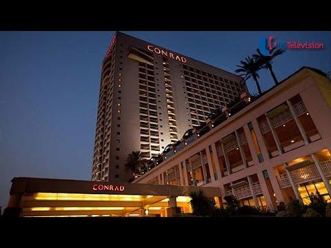US Television - Egypt (Conrad Hotel)