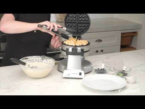 Double Belgian Waffle Maker - Round Demo (WAF-F20)