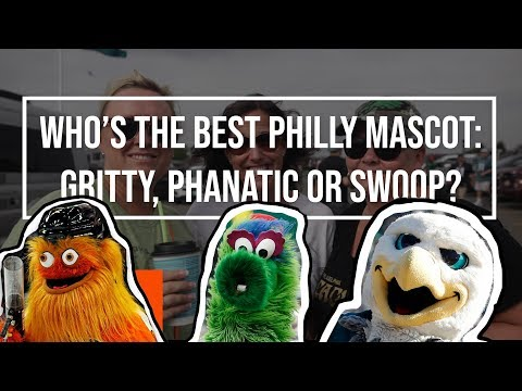 Gritty, Phillie Phanatic or Swoop: Who is the best Philadelphia mascot?