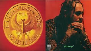 Earth, Wind & Fire vs Post Malone - September Congratulations (Club Edit) HQ