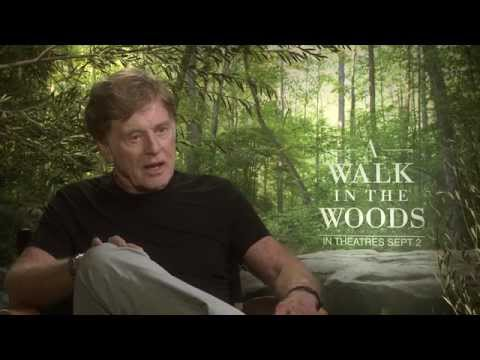 A Walk In The Woods Interview: Robert Redford