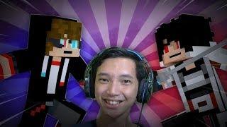 Animasi Minecraft Epic Dan Lucu Dari HP - Roman Vs Azuya - Reaction Edition