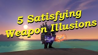 5 Easy To Farm Weapon Illusions - World of Wacraft
