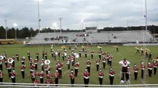 Glynn Academy Marching Terrors at The Sound of Silver 09-10 Competition
