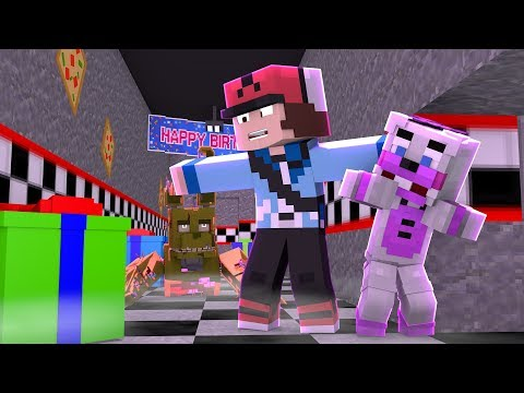 Minecraft FNAF 6 Pizzeria Simulator - SPRINGTRAPS SECRET! (Minecraft Roleplay)