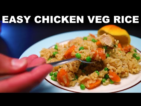 Simple Chicken & Rice Bakes