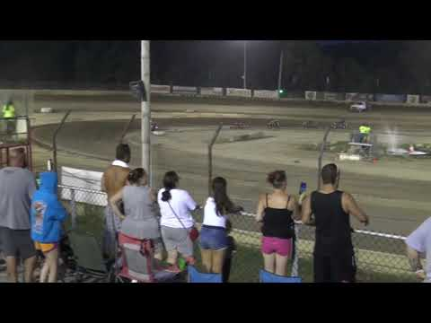 7-27-19 PLYMOUTH SPEEDWAY, PLYMOUTH, IN 600 FEATURE. - dirt track racing video image