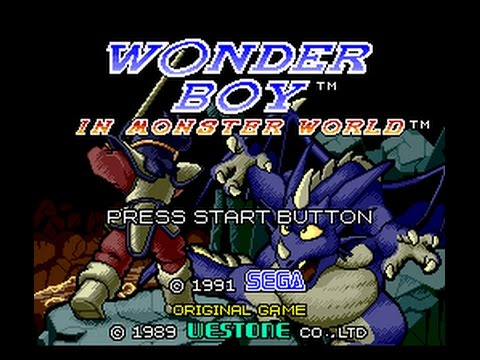 Wonder Boy in Monster World EP 1 | Controles confusos