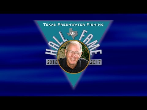 Dr. Bobby Whiteside, Texas Freshwater Fishing Hall Of Fame 2017
