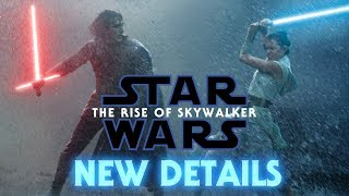 Star Wars The Rise of Skywalker - NEW DETAILS from Vanity Fair