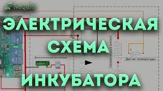 видео Схема электрическая печи
