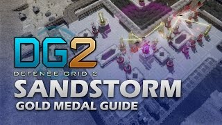 #11 SANDSTORM Gold Medal - Defense Grid 2