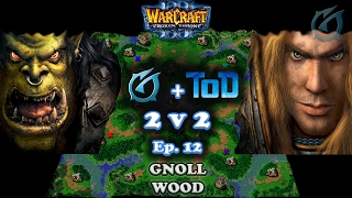 Grubby | Warcraft 3 The Frozen Throne | 2v2 with ToD - 2 Games on Gnoll Wood - Episode 12
