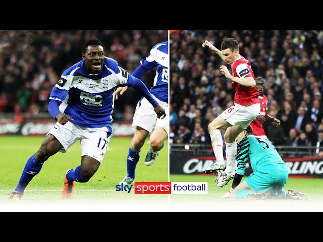 Martins scores winner after Szczesny/Koscielny blunder | Arsenal 1-2 Birmingham League Cup Final '11