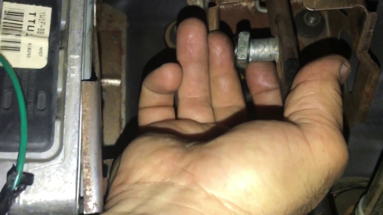 Lincoln Town Car Change Brake Light Switch Youtube