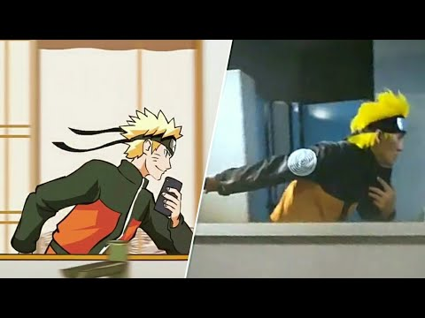 Naruto Mirror Run Challenge | Best Of The Best Compilation