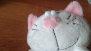 Обзор на мягкую игрушку кот Батон
