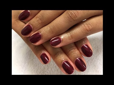 OPI Bogota Blackberry GelColor with OPI Base Coat and ProHealth Top Coat