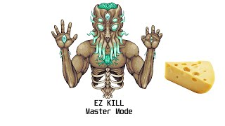 Terraria 1.4 -  The Easiest Way to Beat the Moon Lord (Master Mode Cheese)